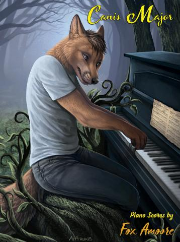 Canis Major: Piano Scores by Fox Amoore front cover